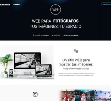 Web para Fotógrafos