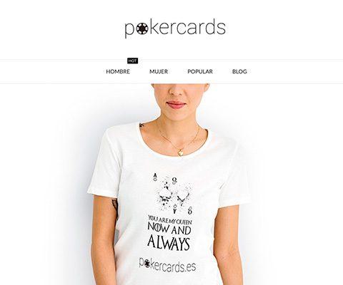 POKERCARDS – camisetas de poker