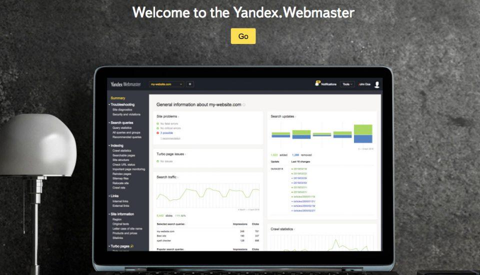 Posicionar un sitio web en Ruso y YANDEX