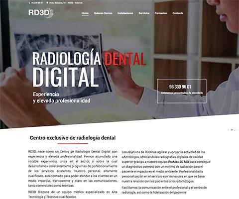 RD3D – Radiología Dental Digital.