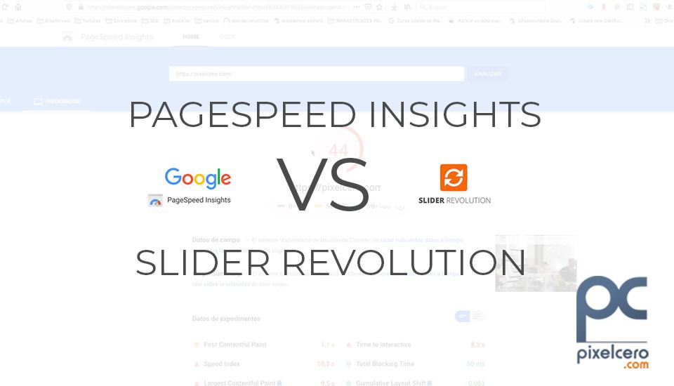 pagespeed insights vs slider revolution